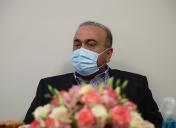 بازدید آقای دکتر کورش منتظری مدیرعامل ایران ارقام از کارخانه پرند