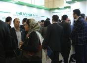 حضور فعالان و کارشناسان صنعت بانکداری الکترونیک کشور در غرفه ایرانارقام